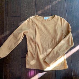 Yellow nursing co sweater
